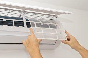 air conditioner air filter clean