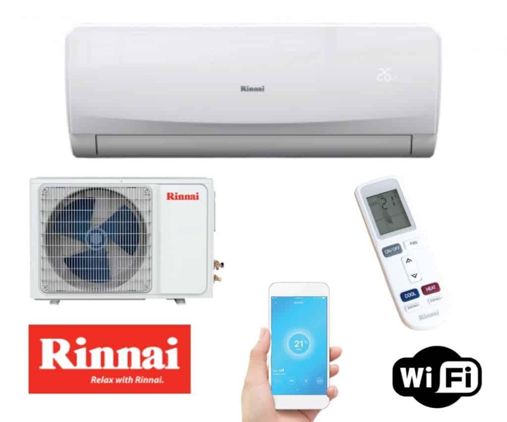 Rinnai split system supplied and installed brisbane