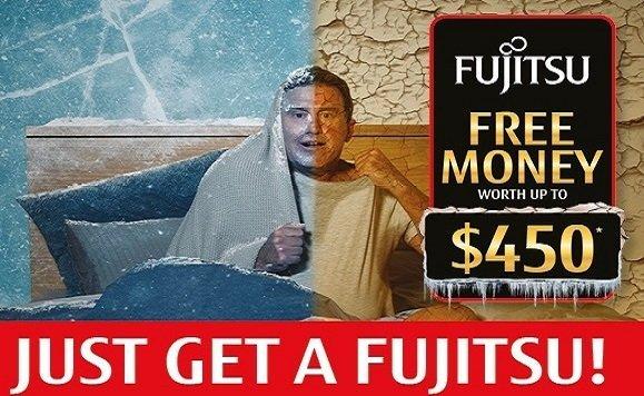 fujitsu cash back