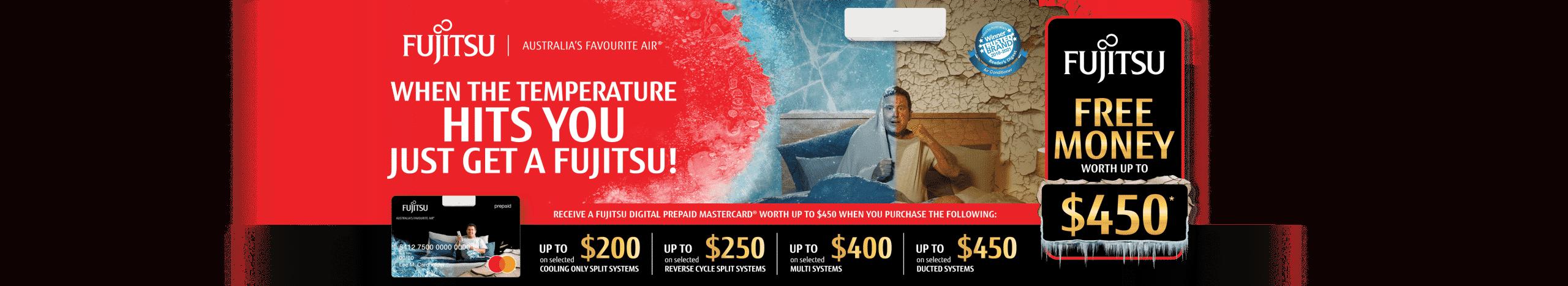 Fujitsu cash back 2021 free money promotion